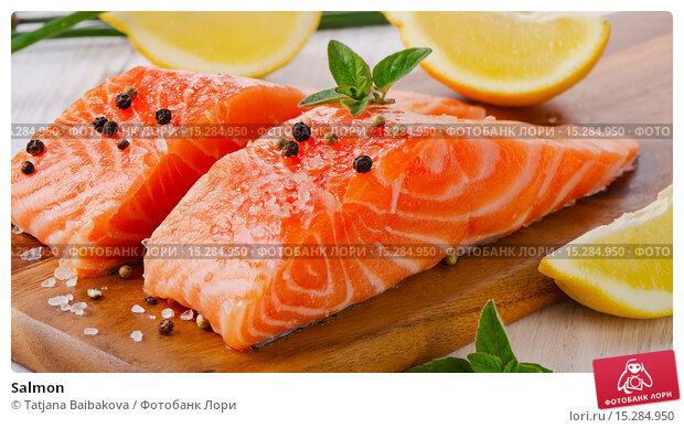 Купить «Salmon», фото № 15284950, снято 8 мая 2014 г. (c) Tatjana Baibakova / Фотобанк Лори
