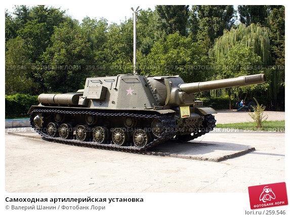 Купить «Самоходная артиллерийская установка», фото № 259546, снято 23 сентября 2007 г. (c) Валерий Шанин / Фотобанк Лори