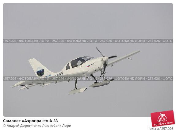 Самолет «Аэропракт» А-33, фото № 257026, снято 26 июля 2017 г. (c) Андрей Доронченко / Фотобанк Лори