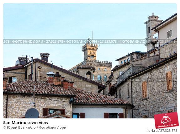 Купить «San Marino town view», фото № 27323578, снято 4 июня 2017 г. (c) Юрий Брыкайло / Фотобанк Лори