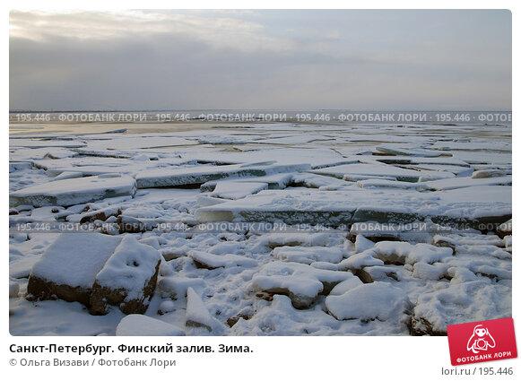 Санкт-Петербург. Финский залив. Зима., эксклюзивное фото № 195446, снято 23 января 2008 г. (c) Ольга Визави / Фотобанк Лори