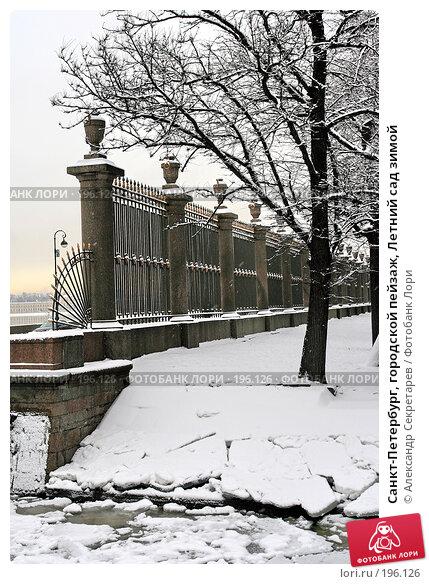 Санкт-Петербург, городской пейзаж, Летний сад зимой, фото № 196126, снято 4 февраля 2008 г. (c) Александр Секретарев / Фотобанк Лори