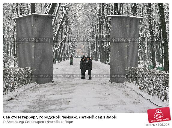 Санкт-Петербург, городской пейзаж, Летний сад зимой, фото № 196226, снято 4 февраля 2008 г. (c) Александр Секретарев / Фотобанк Лори