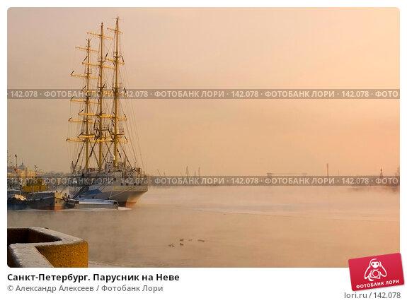 Купить «Санкт-Петербург. Парусник на Неве», эксклюзивное фото № 142078, снято 10 марта 2006 г. (c) Александр Алексеев / Фотобанк Лори
