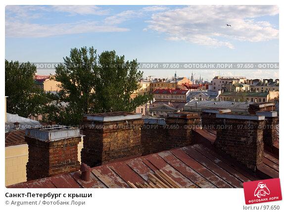 Санкт-Петербург с крыши, фото № 97650, снято 19 июня 2007 г. (c) Argument / Фотобанк Лори