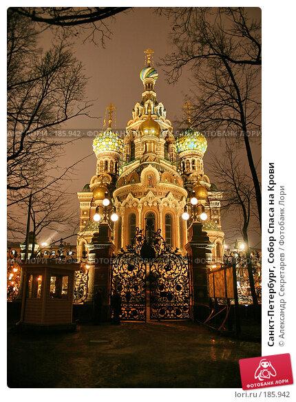Купить «Санкт-Петербург, Собор Спаса на Крови», фото № 185942, снято 16 января 2008 г. (c) Александр Секретарев / Фотобанк Лори