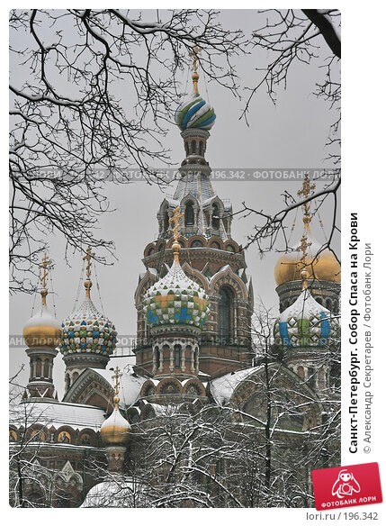 Санкт-Петербург. Собор Спаса на Крови, фото № 196342, снято 4 февраля 2008 г. (c) Александр Секретарев / Фотобанк Лори
