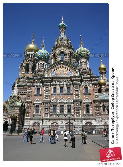 Купить «Санкт-Петербург. Собор Спаса на Крови.», фото № 314158, снято 7 июня 2008 г. (c) Александр Секретарев / Фотобанк Лори
