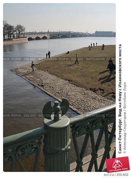 Санкт-Петербург. Вид на Неву с Иоанновского моста, фото № 250602, снято 5 апреля 2008 г. (c) Александр Секретарев / Фотобанк Лори