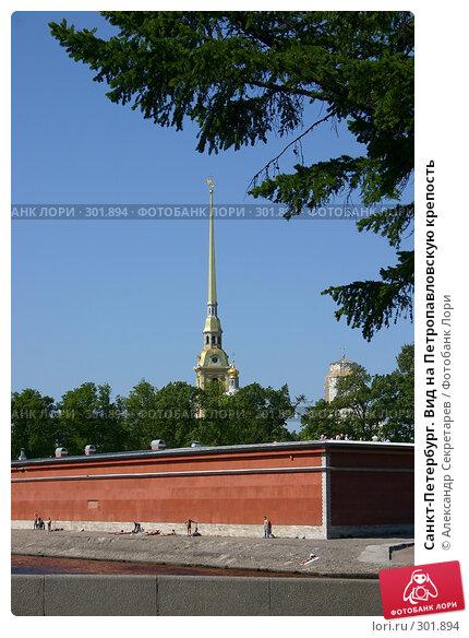 Санкт-Петербург. Вид на Петропавловскую крепость, фото № 301894, снято 28 мая 2008 г. (c) Александр Секретарев / Фотобанк Лори