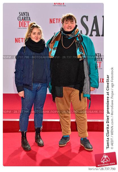 Купить «'Santa Clarita Diet' premiere at CineStar Featuring: Alisa Zillmann, Daniel Zillmann Where: Berlin, Germany When: 20 Jan 2017 Credit: AEDT/WENN.com», фото № 28737790, снято 20 января 2017 г. (c) age Fotostock / Фотобанк Лори