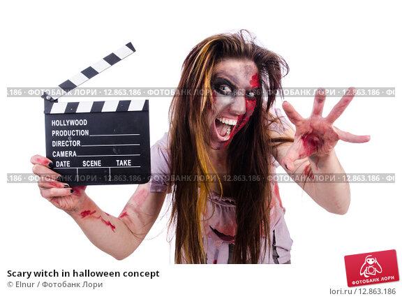 Купить «Scary witch in halloween concept», фото № 12863186, снято 17 апреля 2013 г. (c) Elnur / Фотобанк Лори