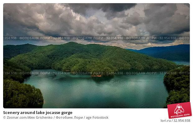Scenery around lake jocasse gorge. Стоковое фото, фотограф Zoonar.com/Alex Grichenko / age Fotostock / Фотобанк Лори