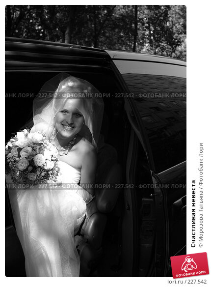 Счастливая невеста, фото № 227542, снято 25 апреля 2017 г. (c) Морозова Татьяна / Фотобанк Лори