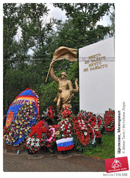 Купить «Щелково, Мемориал», эксклюзивное фото № 316598, снято 30 мая 2008 г. (c) Alexei Tavix / Фотобанк Лори