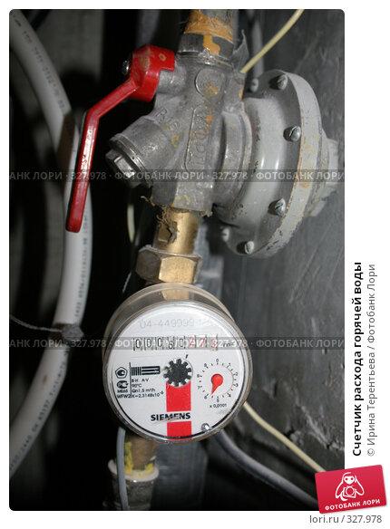 Счетчик расхода горячей воды, эксклюзивное фото № 327978, снято 18 июня 2008 г. (c) Ирина Терентьева / Фотобанк Лори