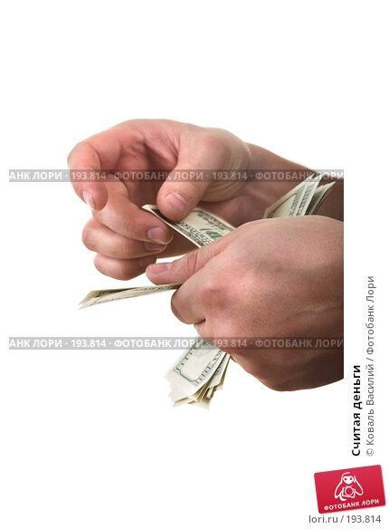 Считая деньги, фото № 193814, снято 15 декабря 2006 г. (c) Коваль Василий / Фотобанк Лори