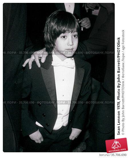 Sean Lennon 1978, Photo By John Barrett/PHOTOlink (2008 год). Редакционное фото, фотограф Photo By John Barrett/PHOTOlink / age Fotostock / Фотобанк Лори