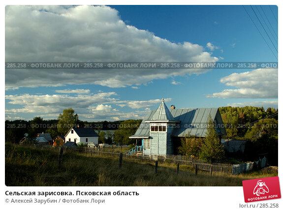 Сельская зарисовка. Псковская область, фото № 285258, снято 8 сентября 2007 г. (c) Алексей Зарубин / Фотобанк Лори