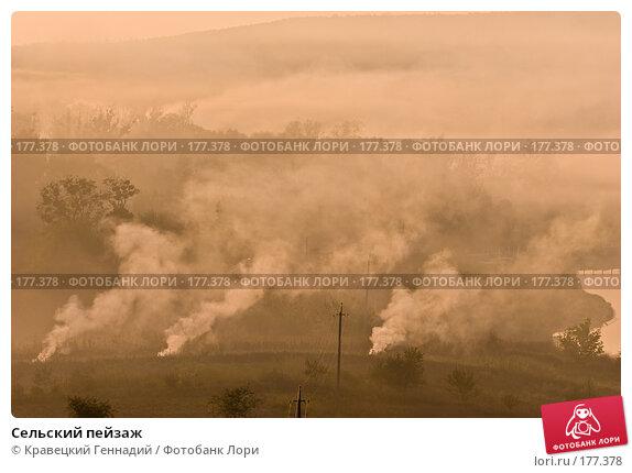Сельский пейзаж, фото № 177378, снято 11 сентября 2005 г. (c) Кравецкий Геннадий / Фотобанк Лори