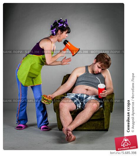 Купить «Семейная ссора», фото № 5685398, снято 3 апреля 2012 г. (c) Андрей Армягов / Фотобанк Лори