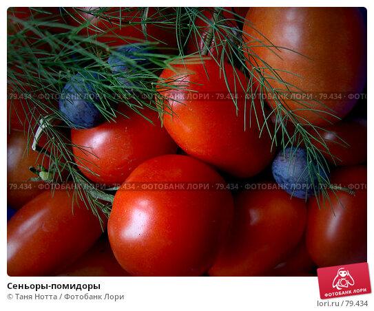 Сеньоры-помидоры, фото № 79434, снято 27 августа 2007 г. (c) Таня Нотта / Фотобанк Лори