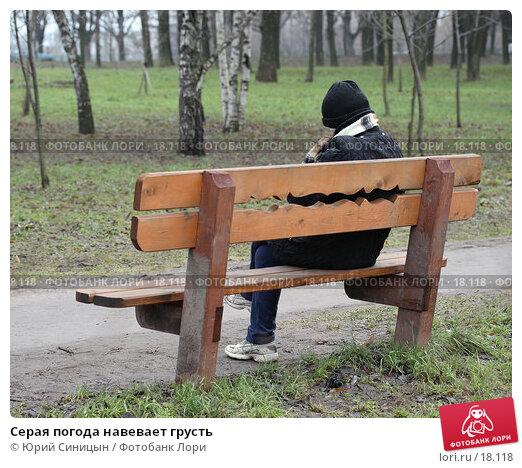 Серая погода навевает грусть, фото № 18118, снято 14 января 2007 г. (c) Юрий Синицын / Фотобанк Лори