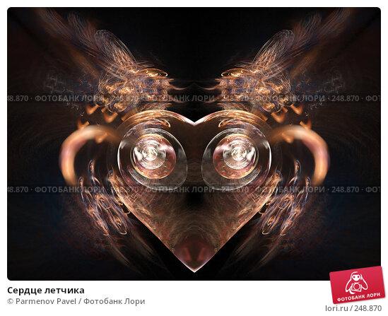 Сердце летчика, иллюстрация № 248870 (c) Parmenov Pavel / Фотобанк Лори