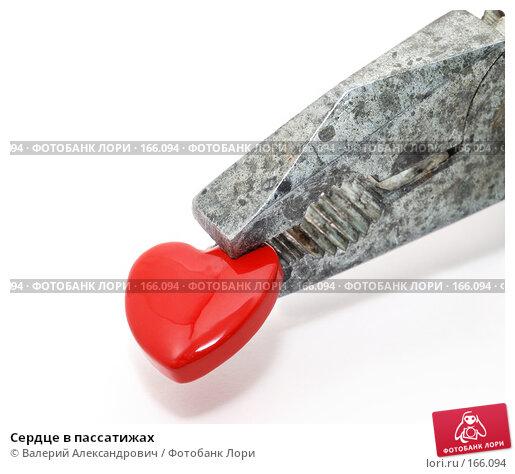 Сердце в пассатижах, фото № 166094, снято 23 июня 2017 г. (c) Валерий Александрович / Фотобанк Лори
