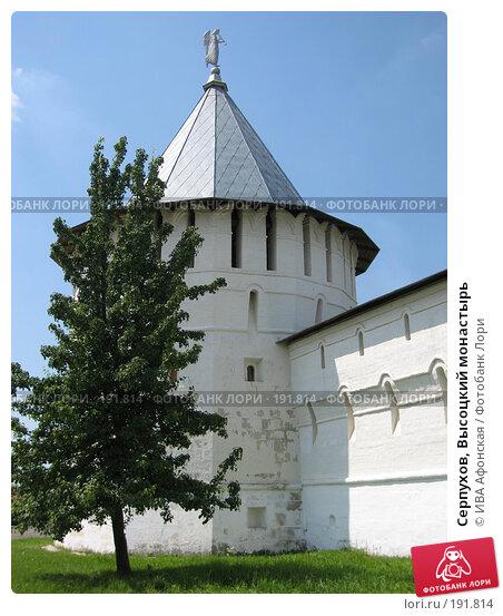 Серпухов, Высоцкий монастырь, фото № 191814, снято 28 июня 2006 г. (c) ИВА Афонская / Фотобанк Лори