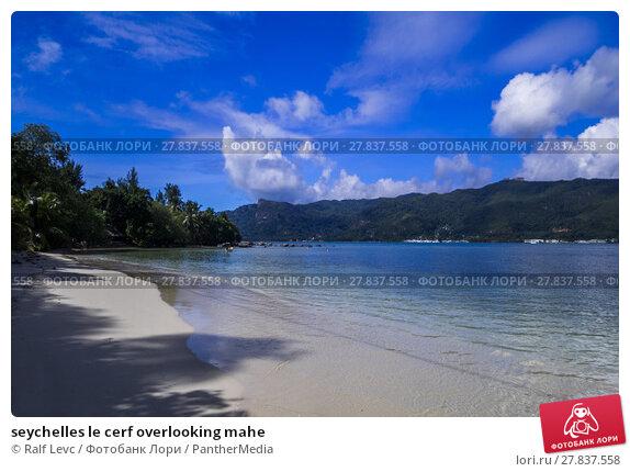 Купить «seychelles le cerf overlooking mahe», фото № 27837558, снято 19 октября 2018 г. (c) PantherMedia / Фотобанк Лори