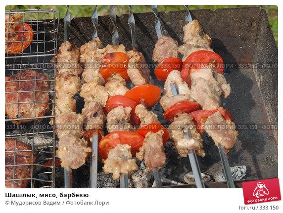 Шашлык, мясо, барбекю, фото № 333150, снято 15 июня 2008 г. (c) Мударисов Вадим / Фотобанк Лори