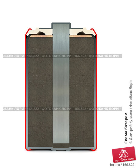 Схема батареи, иллюстрация № 166822 (c) Дмитрий Кутлаев / Фотобанк Лори