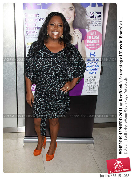 #SHERRISHEPHERD 2011.at RedBook's Screening of 'Puss in Boots'.at... Редакционное фото, фотограф Adam Scull / age Fotostock / Фотобанк Лори