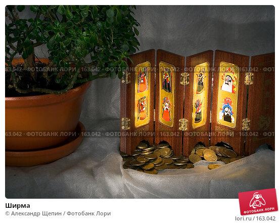 Купить «Ширма», эксклюзивное фото № 163042, снято 27 декабря 2007 г. (c) Александр Щепин / Фотобанк Лори