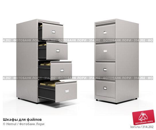 Шкафы для файлов, иллюстрация № 314202 (c) Hemul / Фотобанк Лори