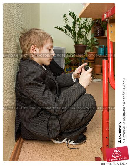 Школьник (2010 год). Редакционное фото, фотограф Наталья Воронцова / Фотобанк Лори