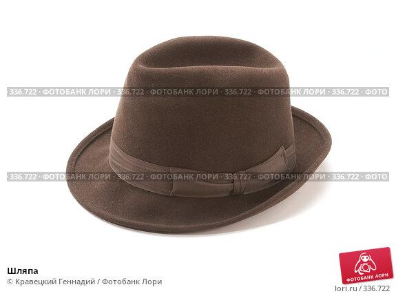 Купить «Шляпа», фото № 336722, снято 4 декабря 2005 г. (c) Кравецкий Геннадий / Фотобанк Лори