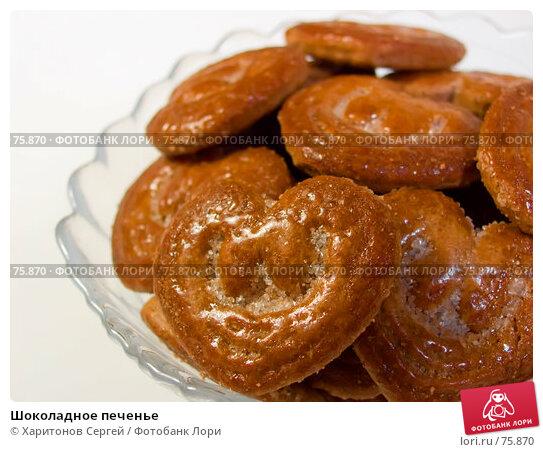 Шоколадное печенье, фото № 75870, снято 25 августа 2007 г. (c) Харитонов Сергей / Фотобанк Лори