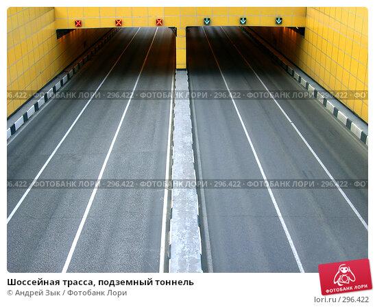 Шоссейная трасса, подземный тоннель, фото № 296422, снято 17 мая 2008 г. (c) Андрей Зык / Фотобанк Лори