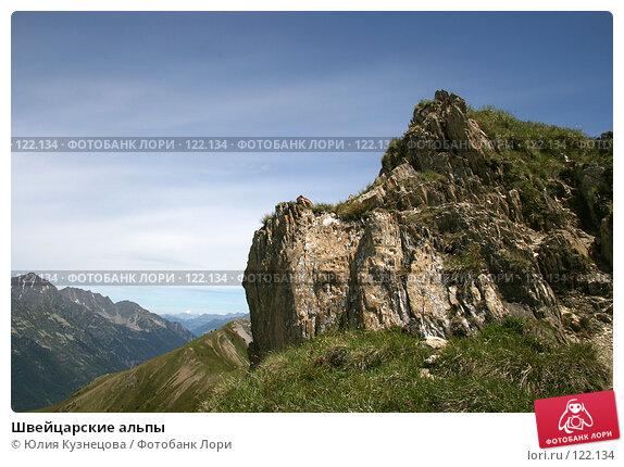 Швейцарские альпы, фото № 122134, снято 17 июня 2007 г. (c) Юлия Кузнецова / Фотобанк Лори
