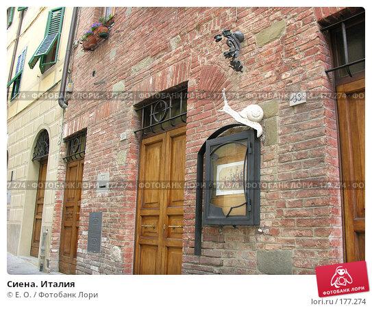 Сиена. Италия, фото № 177274, снято 9 января 2008 г. (c) Екатерина Овсянникова / Фотобанк Лори