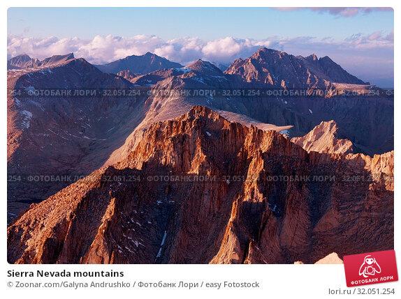 Sierra Nevada mountains. Стоковое фото, фотограф Zoonar.com/Galyna Andrushko / easy Fotostock / Фотобанк Лори