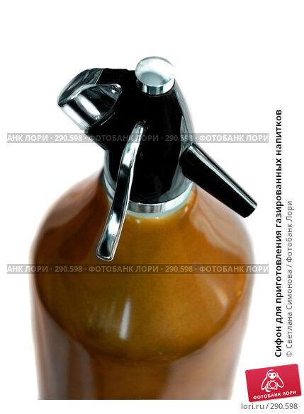 Сифон для приготовления газированных напитков, фото № 290598, снято 19 мая 2008 г. (c) Светлана Симонова / Фотобанк Лори