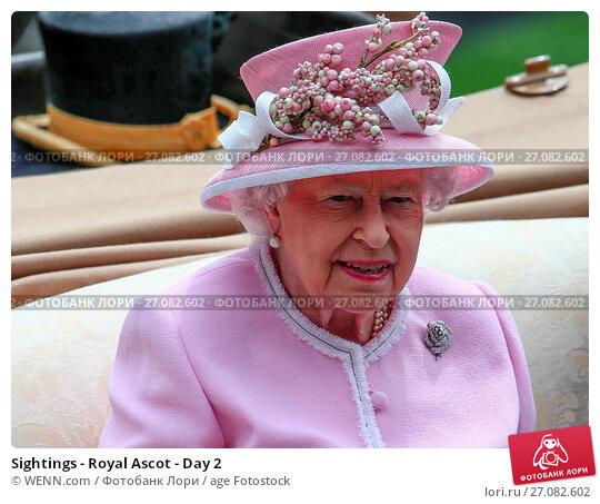 Купить «Sightings - Royal Ascot - Day 2 Featuring: Queen Elizabeth Where: Ascot, United Kingdom When: 15 Jun 2016 Credit: WENN.com», фото № 27082602, снято 15 июня 2016 г. (c) age Fotostock / Фотобанк Лори