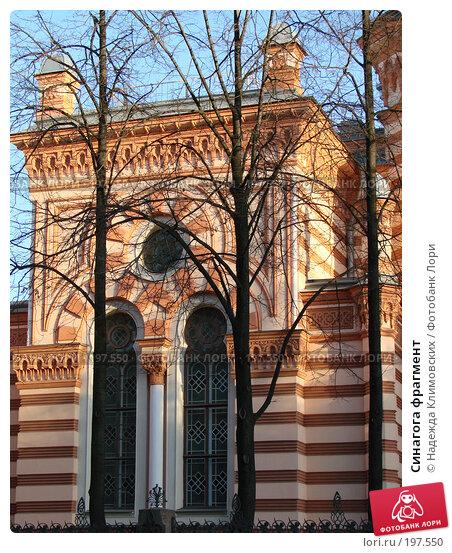 Синагога фрагмент, фото № 197550, снято 20 декабря 2007 г. (c) Надежда Климовских / Фотобанк Лори