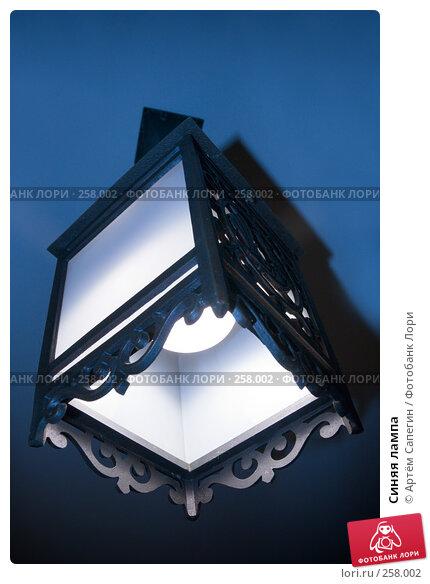 Синяя лампа, фото № 258002, снято 21 января 2006 г. (c) Артём Сапегин / Фотобанк Лори