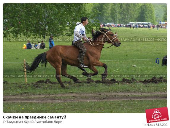 Купить «Скачки на празднике сабантуй», фото № 312202, снято 31 мая 2008 г. (c) Талдыкин Юрий / Фотобанк Лори