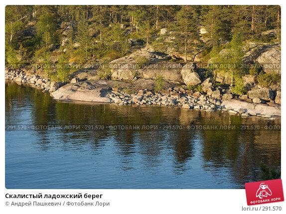 Скалистый ладожский берег, фото № 291570, снято 2 июня 2007 г. (c) Андрей Пашкевич / Фотобанк Лори