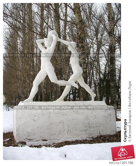 Купить «Скульптура», фото № 201186, снято 13 февраля 2008 г. (c) Евгений Захаров / Фотобанк Лори